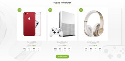 Hot deals products