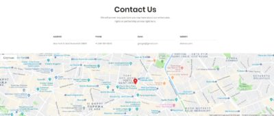 Contacts + Google map