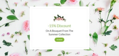 Flowers discount box